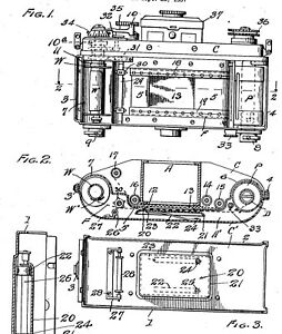 Old IHAGEE (Exakta): antique camera, lens, viewer