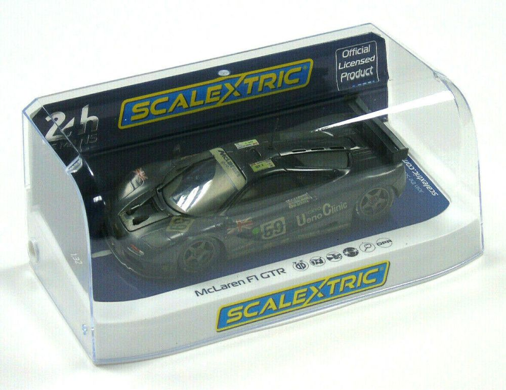 medium resolution of c4103 scalextric slot car le mans 24h mclaren mclaren mclaren f1 gtr weathered 1 32 scale new 79b743
