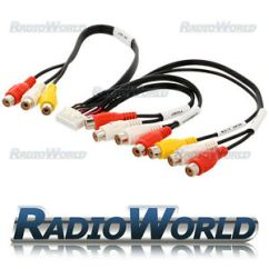 Kenwood Kdc Wiring Diagram Cat6e Kvt 512 Diagrams Schematic Kvt512 Rca Pre Out Av In Phono Cable Lead 152