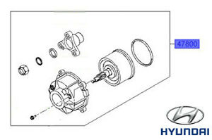 Genuine Hyundai Santa Fe Rear Differential Coupling
