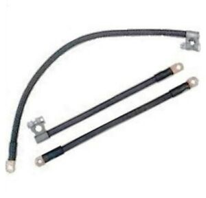 OE-Style Cloth Jacket Battery Cables for 1946-1954