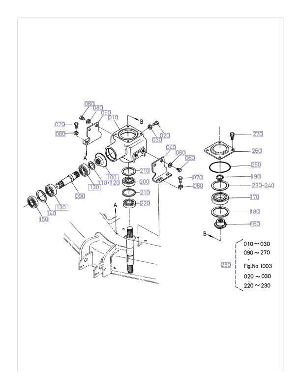 New Kubota Gearbox Gear Box Repair Kit 76500-99513 RC48-G