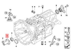 Genuine Gearbox Guide Bush BMW M6 X1 Z4 Roadster E46 E60