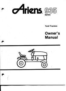 Ariens 935 Garden Tractors 32
