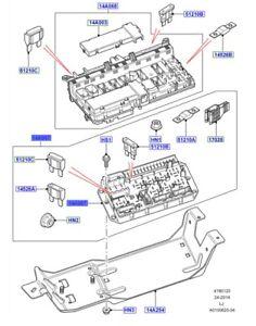LAND ROVER GENUINE PART- BOX FUSE- Range Rover (L322