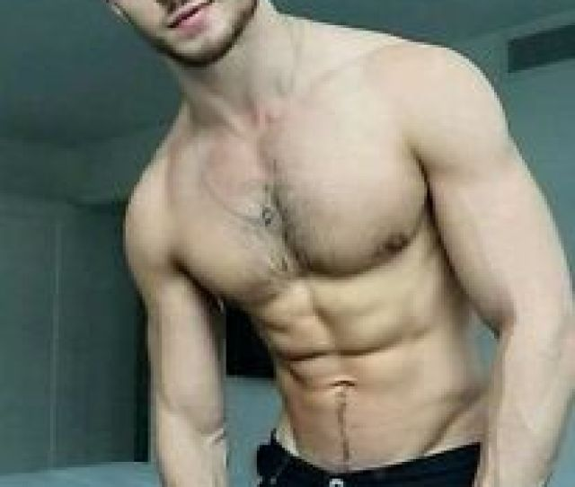 Image Is Loading Shirtless Male Muscular Jock Beefcake Hairy Chest Hot