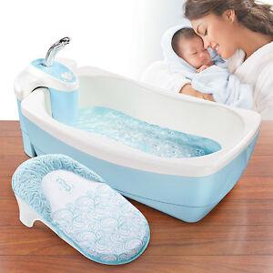 Baby Badewanne Whirlpool und Dusch Set Badesitz Babywanne