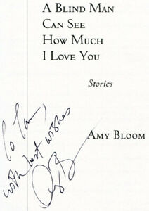 discount online deals Amy Bloom / Blind Man Can See How