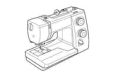 Janome Magnolia 7318 Sewing Machine Manual on CD (pdf