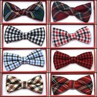 Plaid Flannel Toddler Bow Tie for Boys Girls Kid Child ...