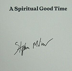 autumn winter New SIGNED Stephen Milner A Spiritual Good