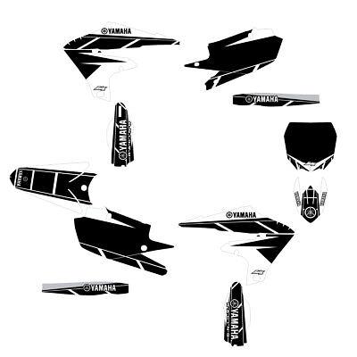 2019 YZF250 Retro Graphic Kit White/Black FREE SHIPPING