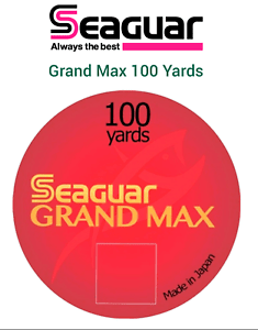 Grand Max Png : grand, Seaguar, GRAND, Fluorocarbon, 100yds, LEADER, RIVERGE, Fishing, Tippet
