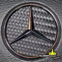Mercedes Stern Carbon Ecken f. Lenkrad A B C E Klasse   eBay