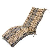 Outdoor Patio Pretty Wicker Chaise Lounge Chair Cushion