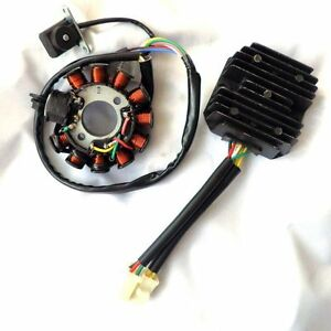 11 Pole Magneto Wiring Diagram Performance 11 Pole Magneto Stator 6 Wire 2 Plug