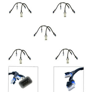 5X New Ignition Coil Connector Harnesses For Chevrolet