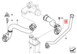 Genuine Engine Thermostat Coolant Hose BMW X3 E83 X3 2.5i