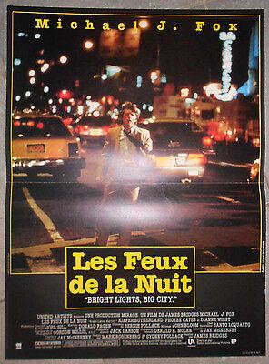 Les Feux De La Nuit : Poster, Night, Bright, Lights, Michael