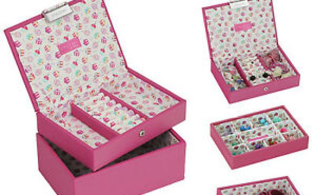 Stackers Jewellery Box Mini Size Cupcake Pink Create Your