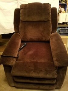 lazyboy lift chair buy lycra covers australia la z boy new reclining massage heated ebay image is loading
