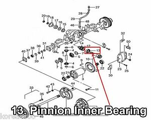 OEM R85 Type Rear Pinion Inner Bearing Ssangyong Musso