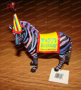 Have A Wild One Happy Birthday By Westland Giftware 16929 Zebra