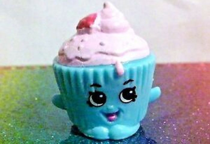 Shopkins Cupcake Chic Blue Easter Exclusive Mint Oop Ebay