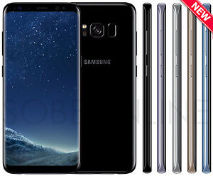 "Samsung Galaxy S8 G950FD Dual Sim (FACTORY UNLOCKED) 5.8"" 64GB - Pick Your Color"