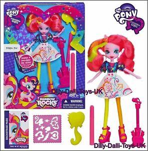 My Little Pony Pinkie Pie Doll Rainbow Rocks Equestria Girls A8781 Pinky New Ebay