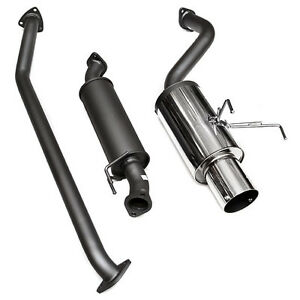 details about hks racing 2002 2004 acura rsx base 2 0l k20a3 hi power catback exhaust system