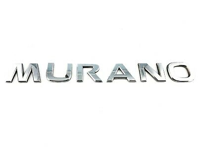 2003-2007 NISSAN MURANO REAR TRUNK LID OEM EMBLEM BADGE