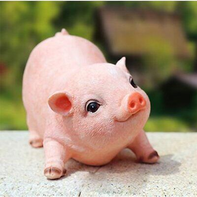 country farm piglet statue