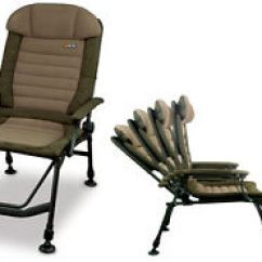 Fishing Chair With Arms Office Lumbar Fox New Fx Super Deluxe Recliner Carp Image Is Loading