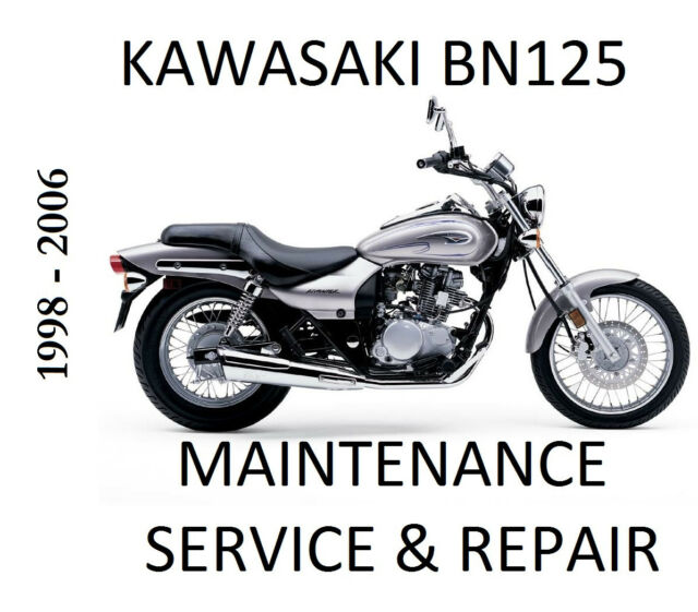 Kawasaki BN125 Eiminator Service Maintenance Repair Manual