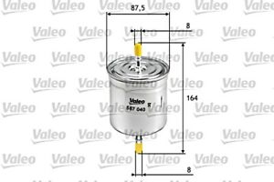 VALEO Fuel Filter For VOLVO C70 I S40 S60 S80 V40 V70 II