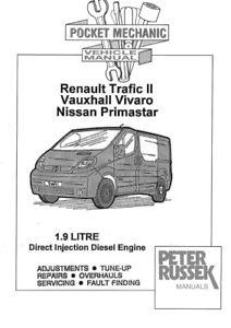 Renault Trafic Parts Diagram