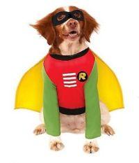 ROBIN DOG COSTUME Small Pet 887836 Superhero Rubies Fancy ...