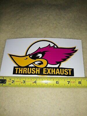 Thrush Logo : thrush, Thrush, Exhaust, Racing, Decal, Sticker, Vinyl, Window