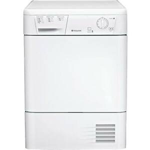 Hotpoint FETC70BP White 7kg 2 Temps with Reverse Action Condenser Tumble Dryer   eBay