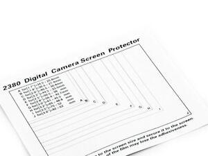 Pellicole Protettiva display ADESIVA per CANON EOS 5D MARK