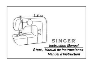 Singer 1304 Sewing Machine/Embroidery/Serger Owners Manual