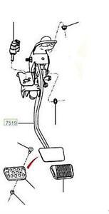 GENUINE FORD BA & FG + Mk2 FG-X FALCON CLUTCH PEDAL ASSY W