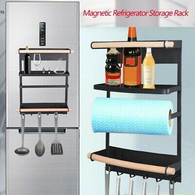 heavy duty kitchen rack fridge magnetic organizer rustproof spice jars rack ebay
