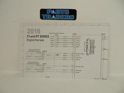 genuine canam dealer service manual engine wiring diagram spyder rt f3  2018  ebay