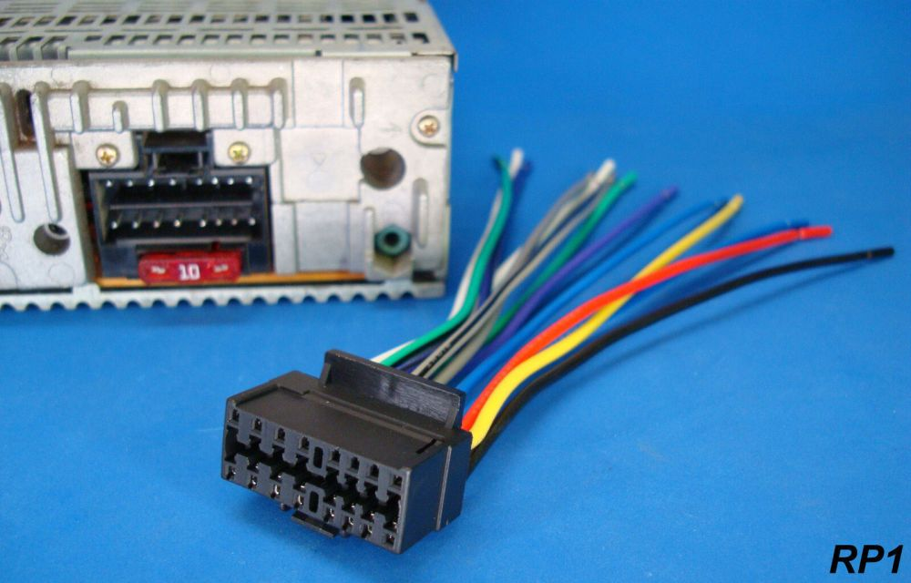 medium resolution of sony xplod 16 pin radio wire harness car audio stereo power plug back clip for sale online ebay