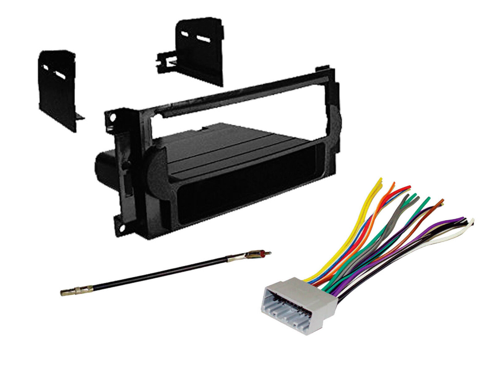 hight resolution of with wire harness antenna adapter for 2007 2008 dodge caliber vehicles