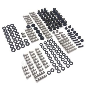 179 PCs Fairing Bolt Kit Screws Bolts Stainless For
