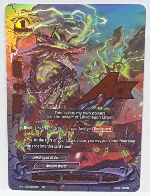 Bushiroad Future Card Buddyfight Rumbling Thunderaxe. Agito S-BT03/0066EN AR | eBay