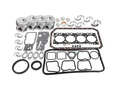 Ford New Holland LB75.B Backhoe Loader Engine Overhaul Kit